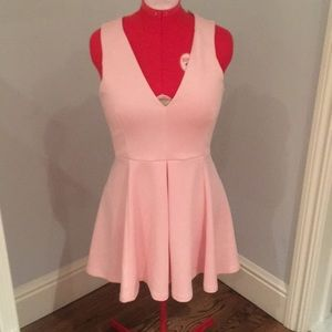 Lovers and friends light pink dress